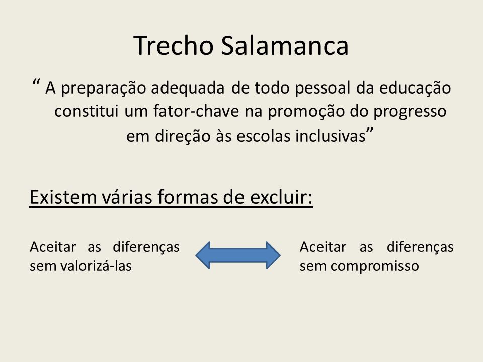 Trecho Salamanca