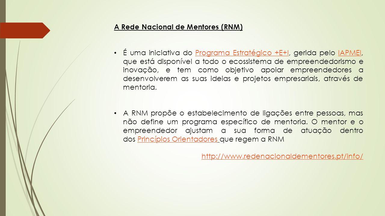 A Rede Nacional de Mentores (RNM)