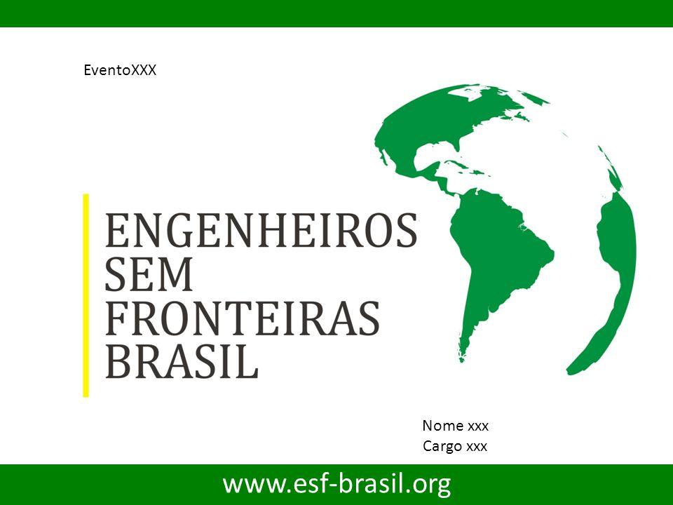 EventoXXX Nome xxx Cargo xxx www.esf-brasil.org