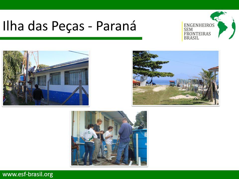 Ilha das Peças - Paraná www.esf-brasil.org
