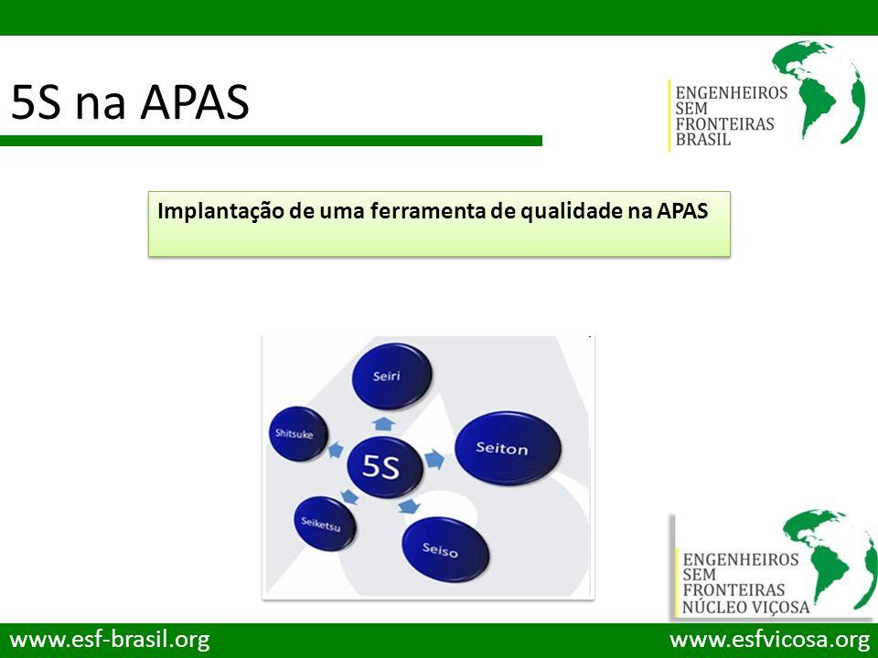 5S na APAS www.esf-brasil.org www.esfvicosa.org