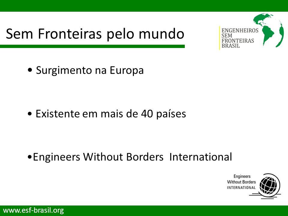 Sem Fronteiras pelo mundo