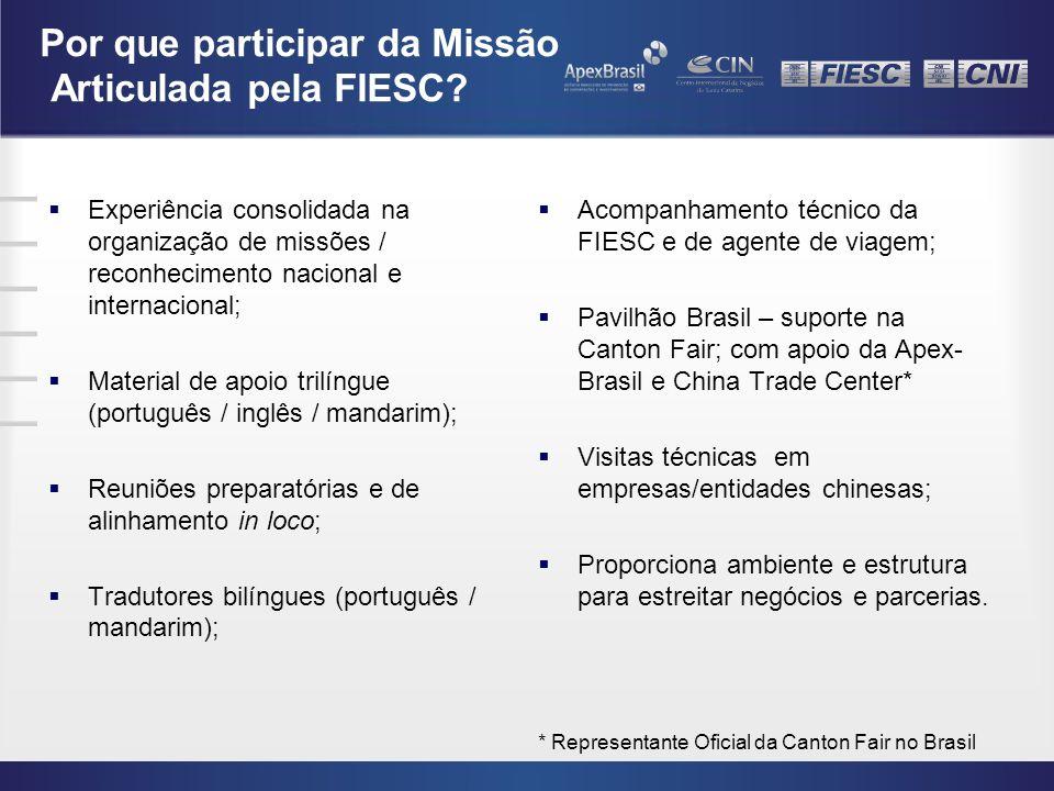 Por que participar da Missão Articulada pela FIESC