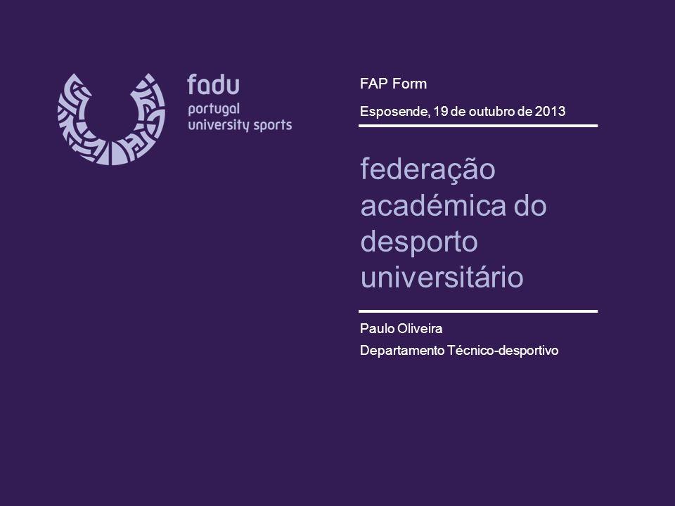 federação académica do desporto universitário