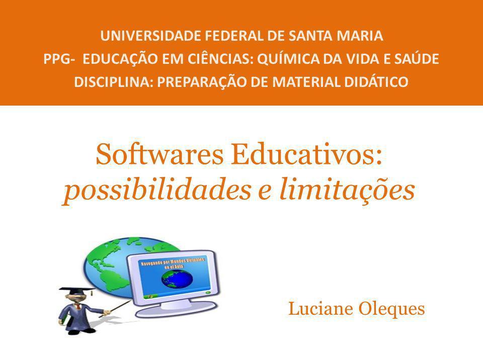 Softwares Educativos: possibilidades e limitações