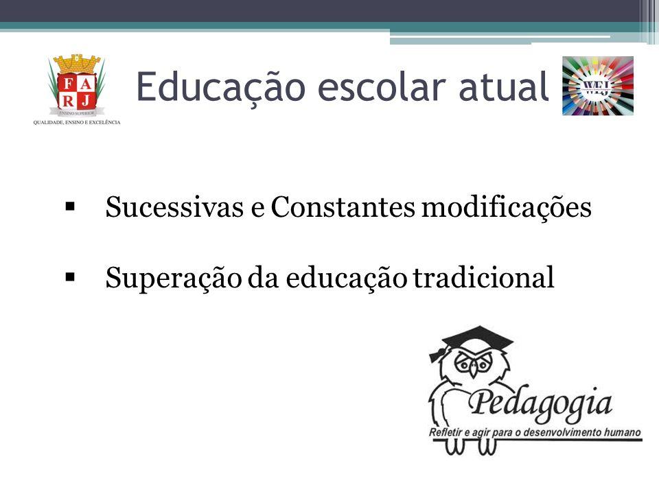 Educação escolar atual
