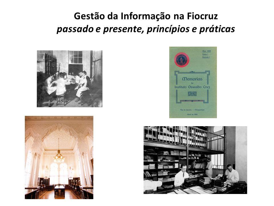 Gestão da Informação na Fiocruz