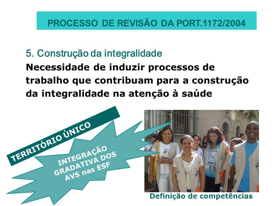 5. Construção da integralidade