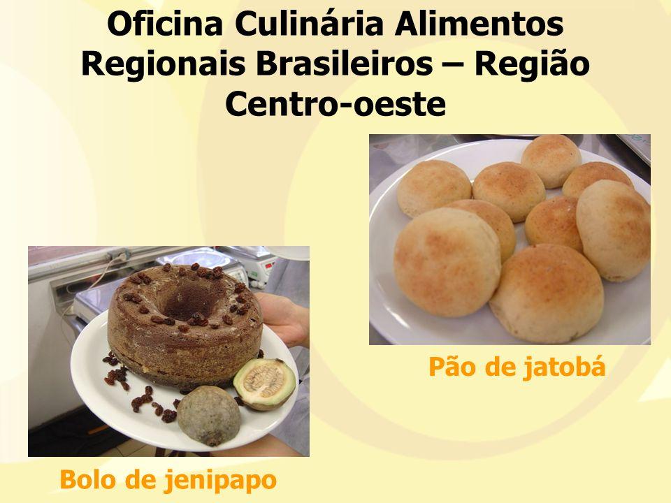 Oficina Culinária Alimentos Regionais Brasileiros – Região Centro-oeste