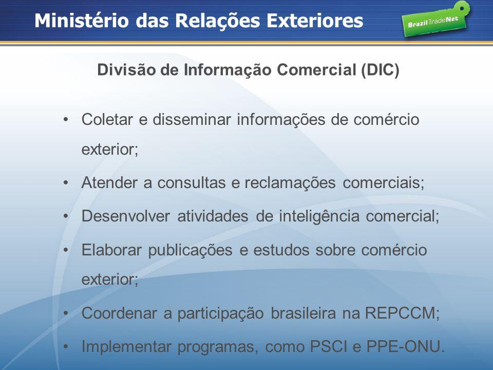 Divisão de Informação Comercial (DIC)