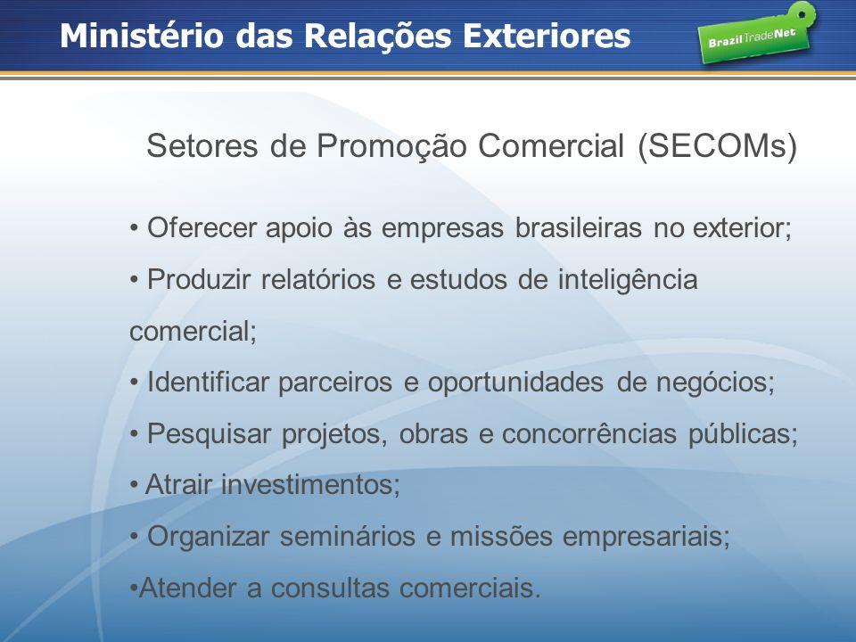 Setores de Promoção Comercial (SECOMs)