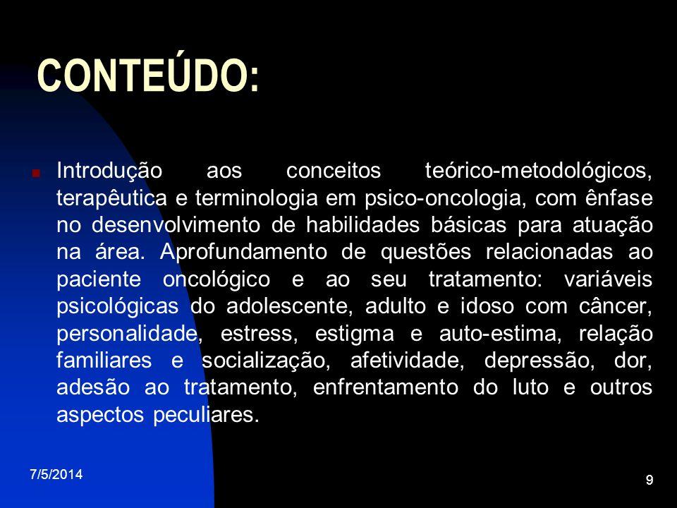 CONTEÚDO: