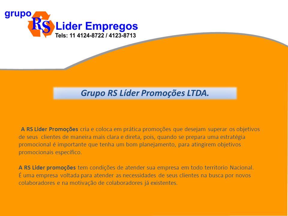 Grupo RS Líder Promoções LTDA.