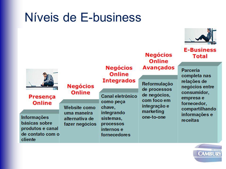 Níveis de E-business