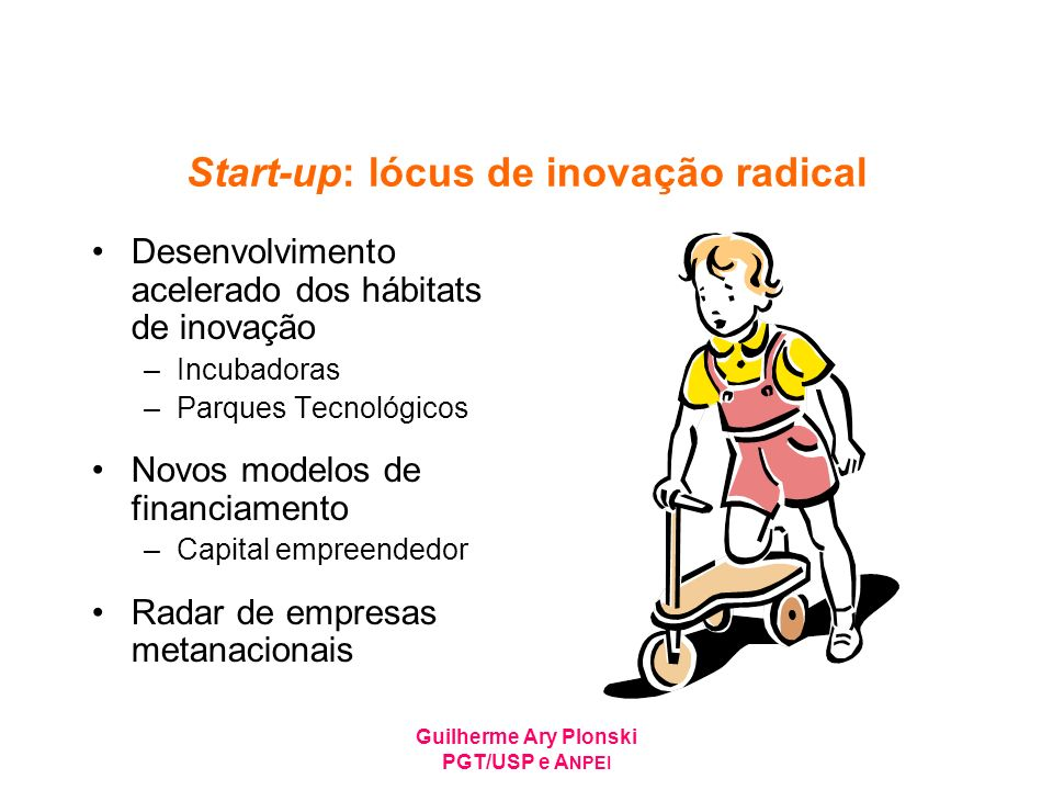 Start-up: lócus de inovação radical
