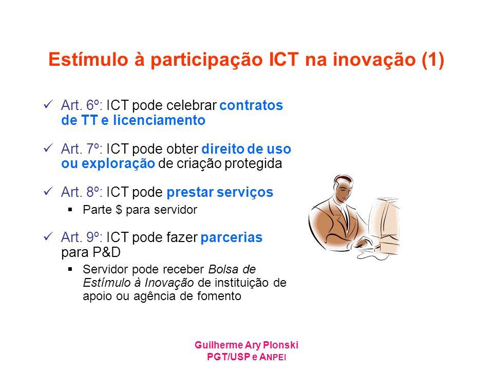 Estímulo à participação ICT na inovação (1)