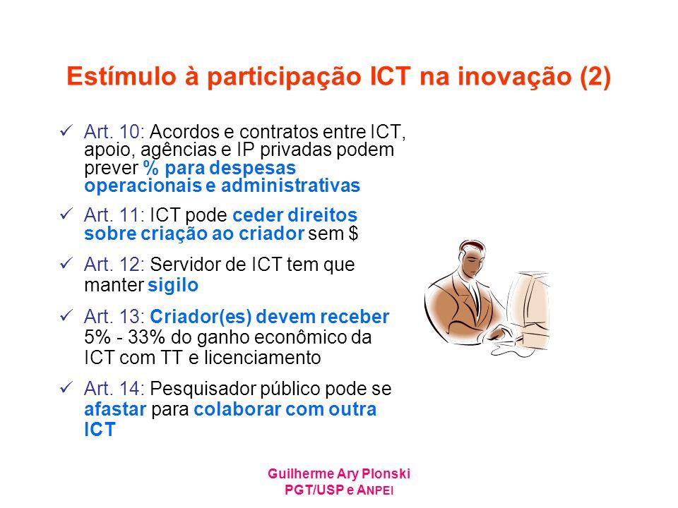 Estímulo à participação ICT na inovação (2)