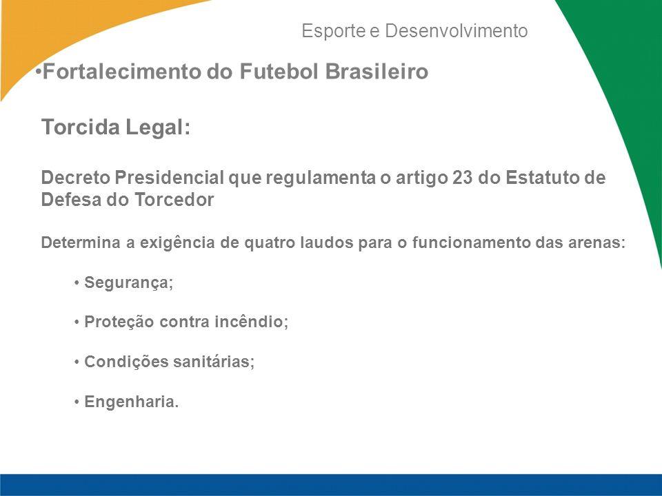Fortalecimento do Futebol Brasileiro