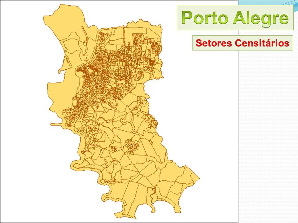 Porto Alegre Setores Censitários