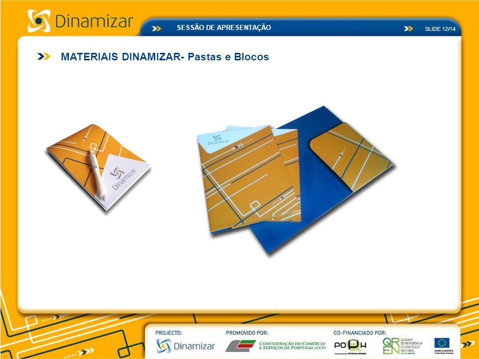 MATERIAIS DINAMIZAR- Pastas e Blocos