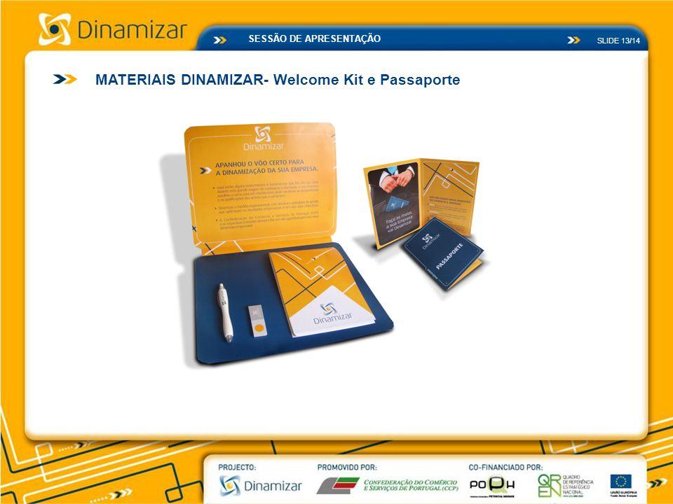 MATERIAIS DINAMIZAR- Welcome Kit e Passaporte