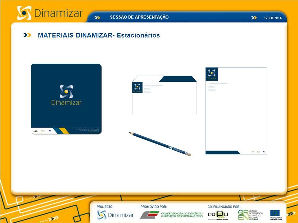 MATERIAIS DINAMIZAR- Estacionários