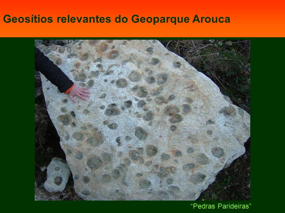 Geosítios relevantes do Geoparque Arouca