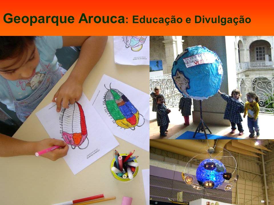 Geoparque Arouca: Educação e Divulgação