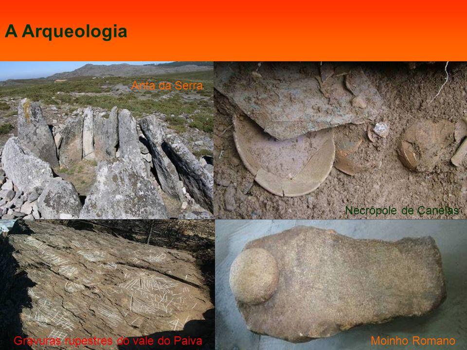 A Arqueologia Anta da Serra Necrópole de Canelas