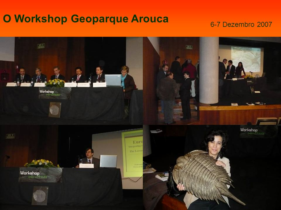 O Workshop Geoparque Arouca
