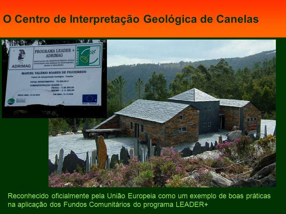 O Centro de Interpretação Geológica de Canelas