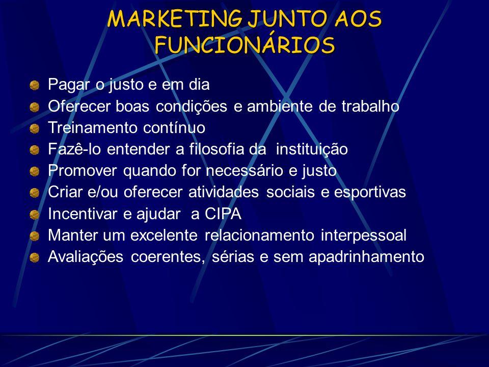 MARKETING JUNTO AOS FUNCIONÁRIOS