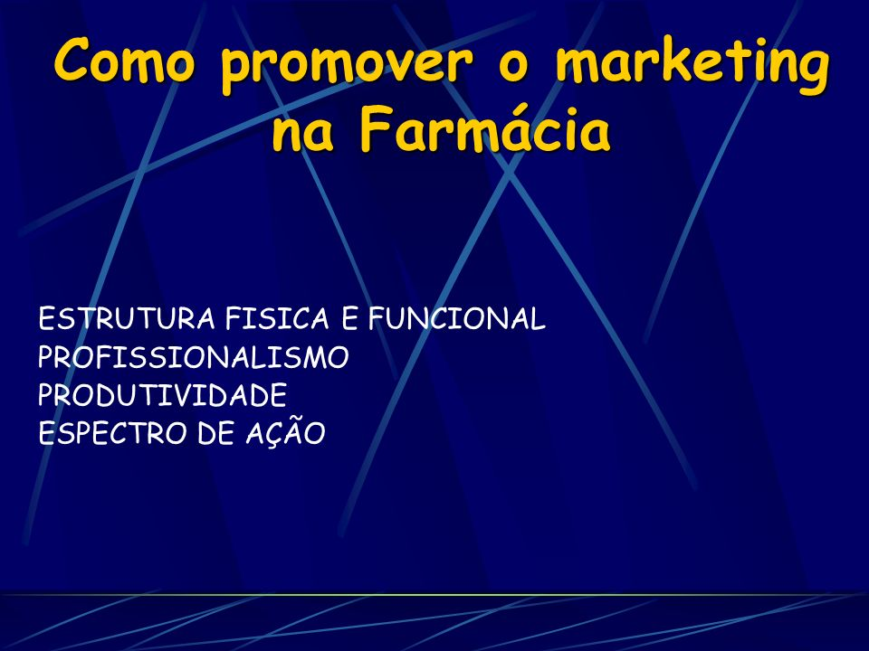 Como promover o marketing na Farmácia