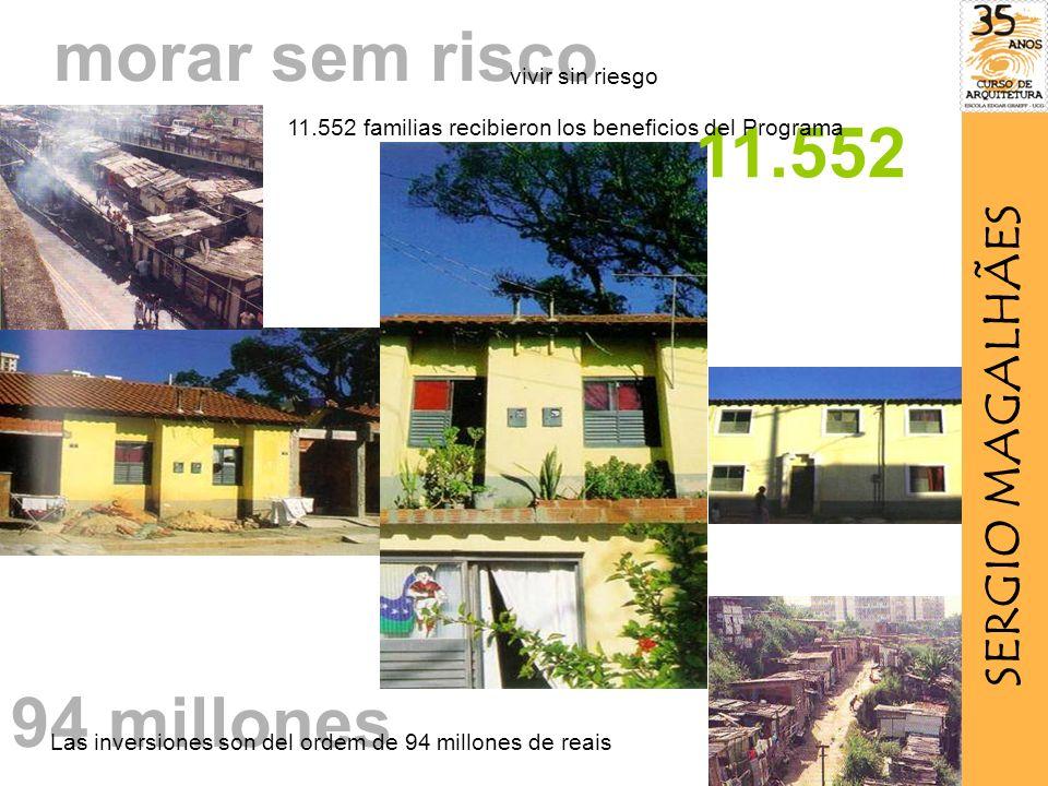 morar sem risco 11.552 94 millones SERGIO MAGALHÃES vivir sin riesgo