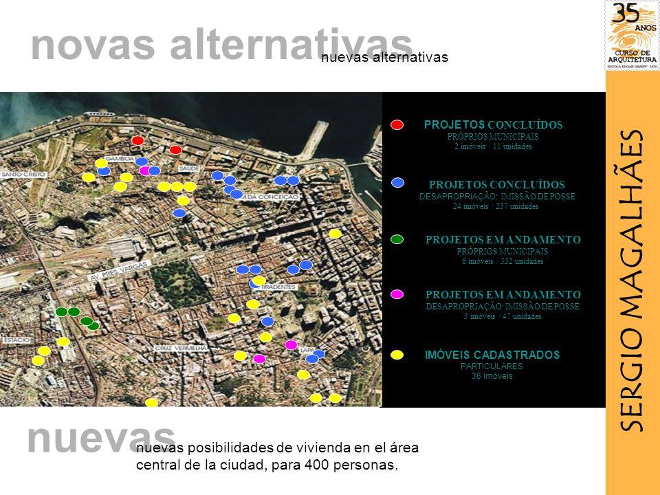 novas alternativas nuevas SERGIO MAGALHÃES nuevas alternativas