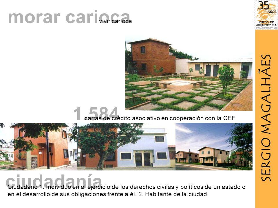 morar carioca 1.584 ciudadanía SERGIO MAGALHÃES vivir carioca