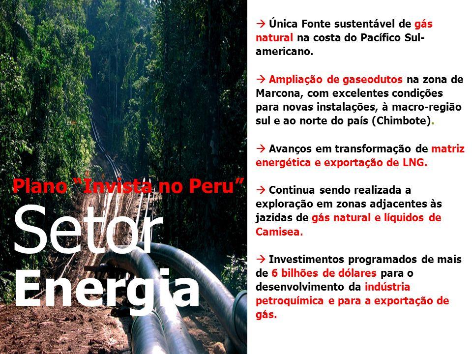 Setor Energia Plano Invista no Peru