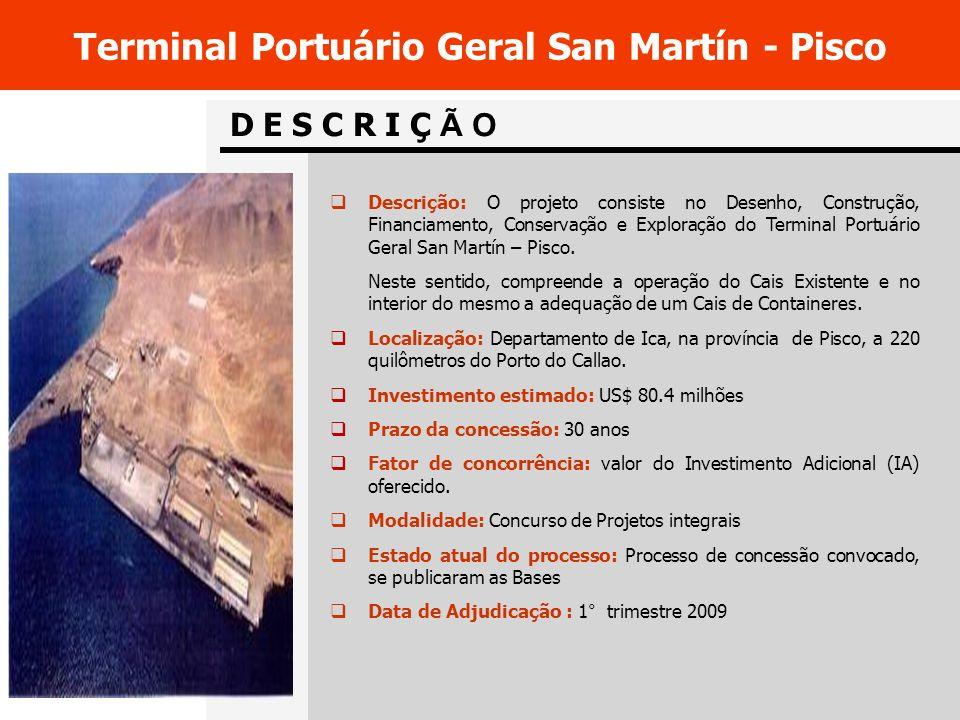 Terminal Portuário Geral San Martín - Pisco