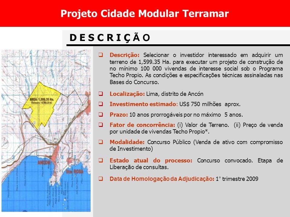 Projeto Cidade Modular Terramar