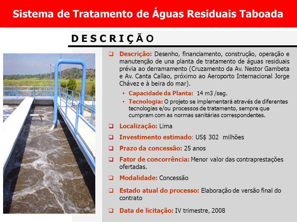 Sistema de Tratamento de Águas Residuais Taboada
