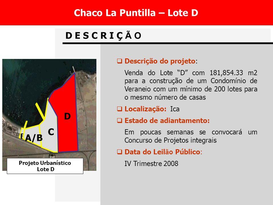 Chaco La Puntilla – Lote D