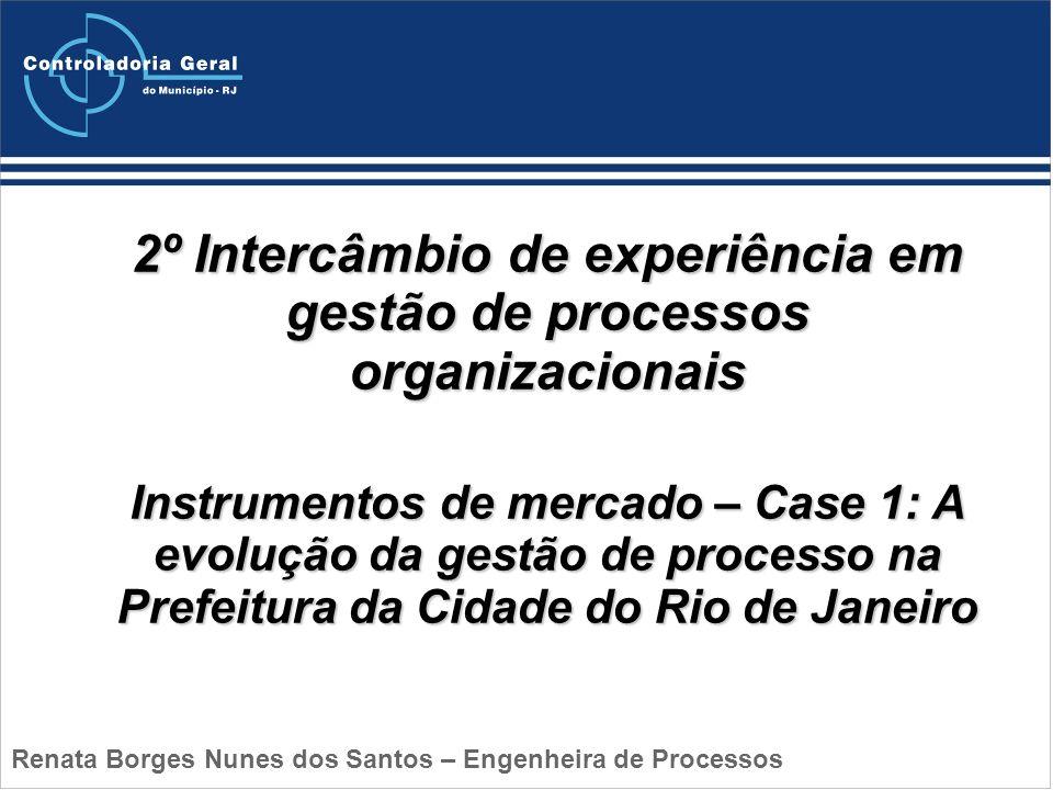 2º Intercâmbio de experiência em gestão de processos organizacionais