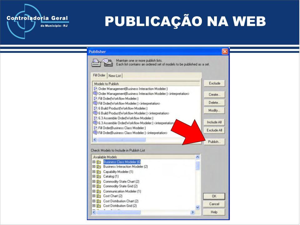 PUBLICAÇÃO NA WEB