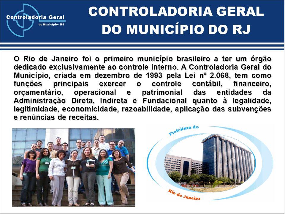 CONTROLADORIA GERAL DO MUNICÍPIO DO RJ