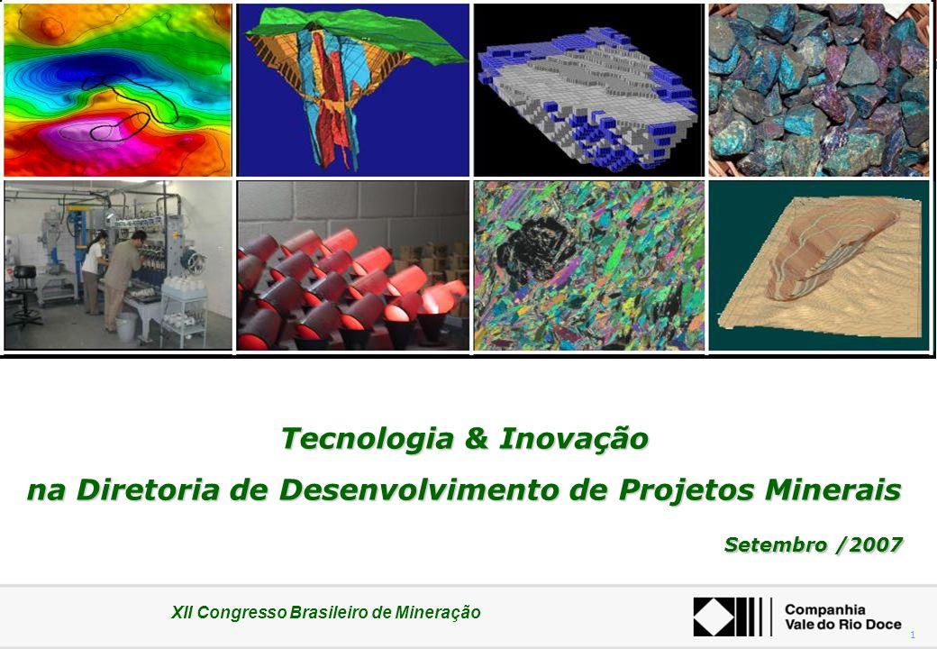 na Diretoria de Desenvolvimento de Projetos Minerais