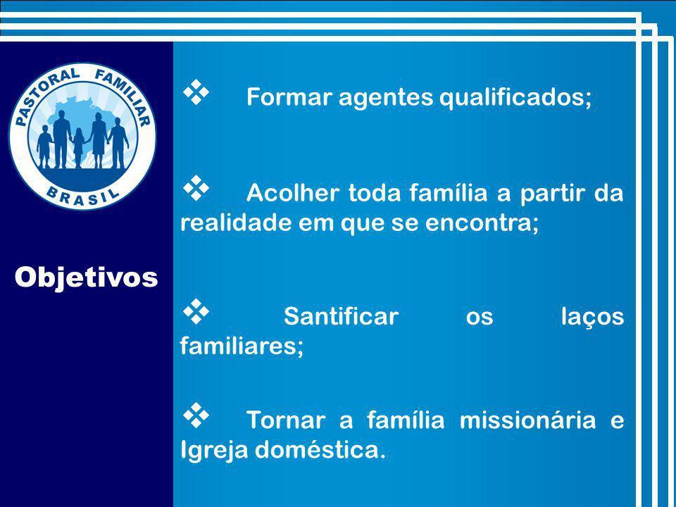 Objetivos Formar agentes qualificados;