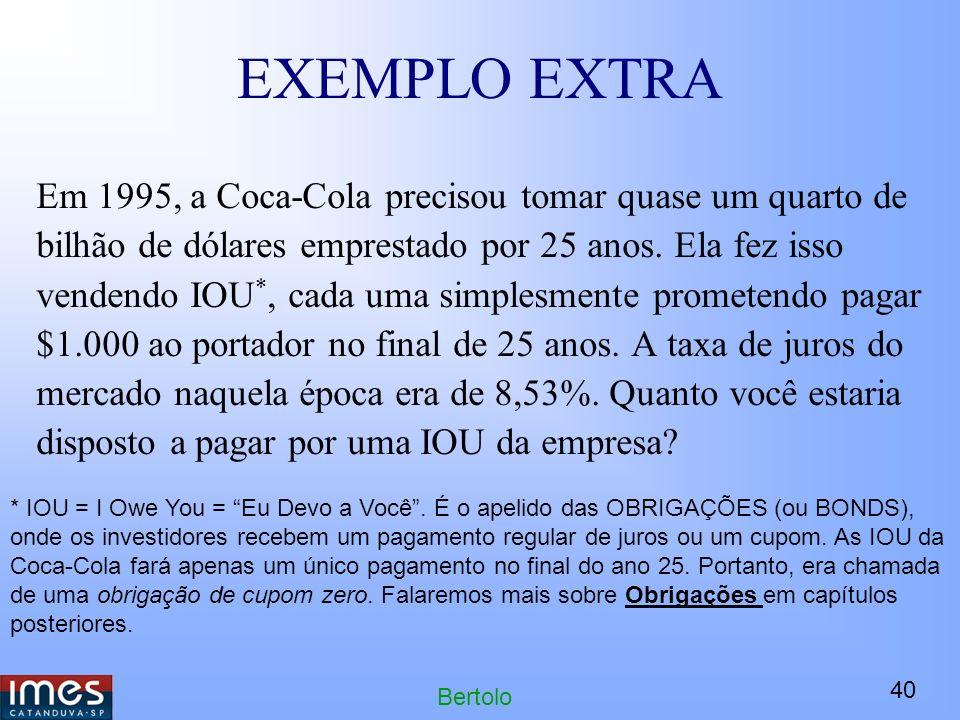 EXEMPLO EXTRA
