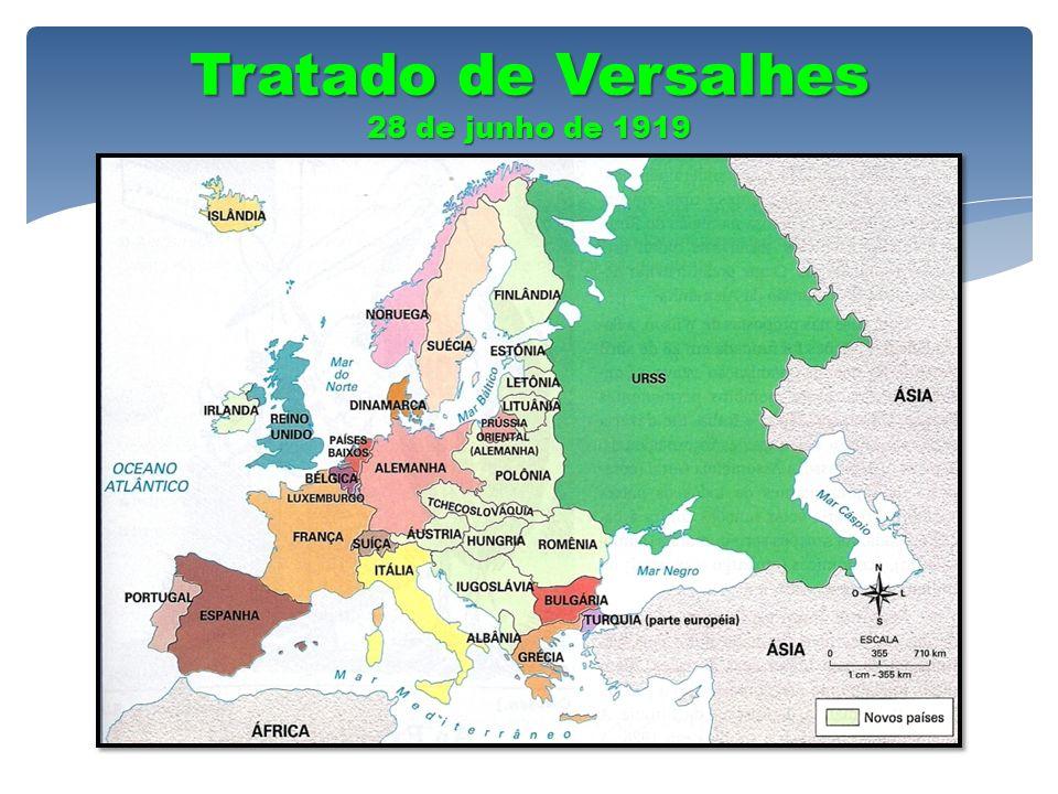 Tratado de Versalhes 28 de junho de 1919