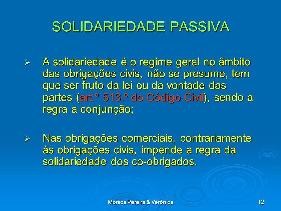 SOLIDARIEDADE PASSIVA