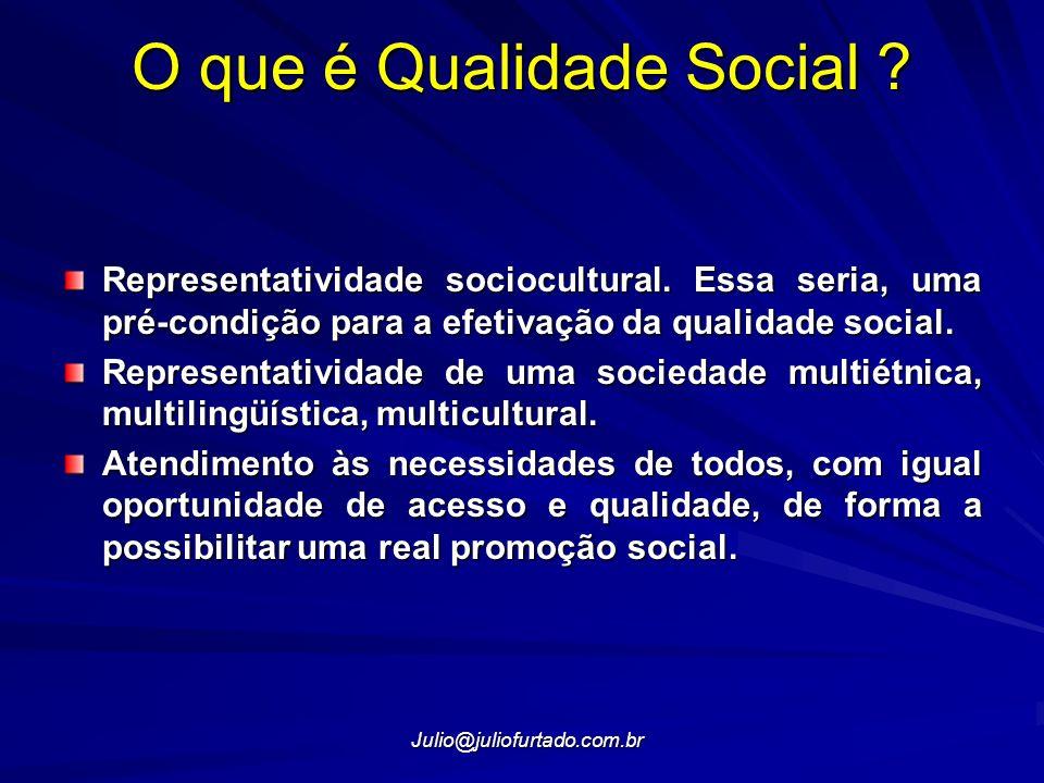 O que é Qualidade Social